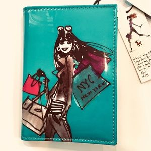 IZAK NYC New York  Passport Holder